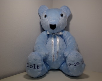 personalized keepsake  bear