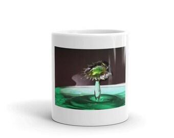 Water drops - Flower Mug