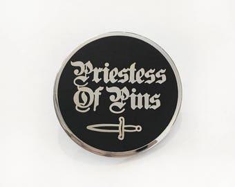 Priestess Of Pins Pin Badge