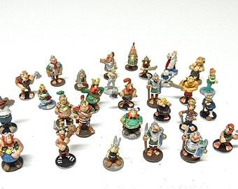 Asterix Obelix HP figurine made of lead.