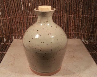 Custom Cremation Urn - Stoneware Cremains Jar - HEARTH