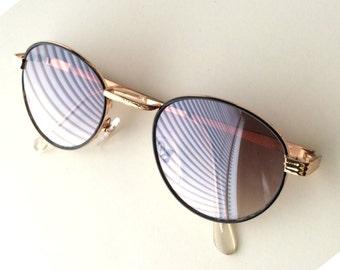 Vintage Gatsby Round Sunglasses / Gold Frames P3 Glasses / John Lennon Glasses / Gift Idea / O'Malley Sunglasses for Men Women