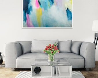 Original abstract painting, modern abstract colorful painting, original acrylic abstract art, abstract modern wall art