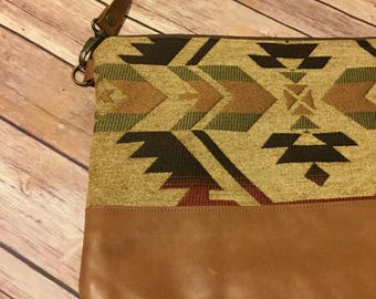 Fall Aztec Crossbody Bag