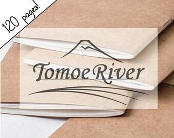 EXTRA LARGE Tomoe River Paper All SizesTraveler's Notebook Insert, Kraft Cover Traveller's Refill Personal Standard