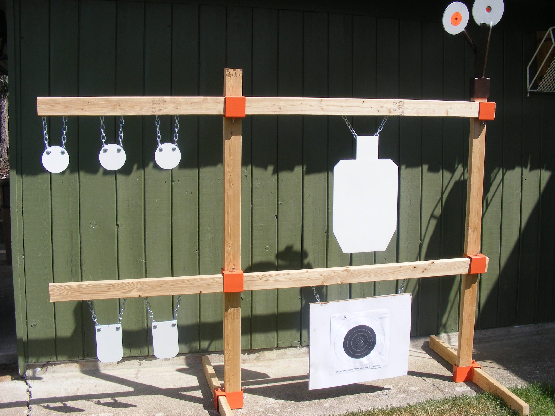 Tommygun Pistol Rack Kit Rifle Shooting Target Ar500 Gong