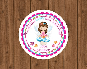 Fairy Best, Fairy Valentine Tag, You're The Fairy Best, Fairy Princess Valentine Tag, Girls Valentine Tag, School Valentine, Fairy, School