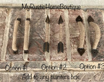 Handles for Planter Boxes