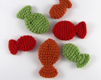 Crochet Catnip Fish Toys - Cat Toys with Catnip - Handmade Pet Toys - Crochet Fish Toys - Fun Cat Toys - Nepeta cataria - Cat Lover Gift