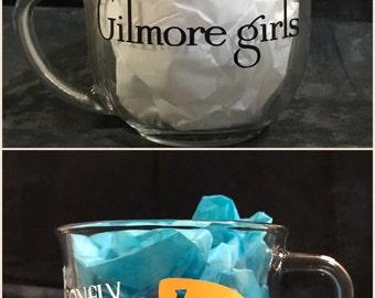 Gilmore Girls Glass Coffee Mug