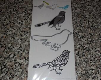 Momenta Cut and Emboss Bird Die