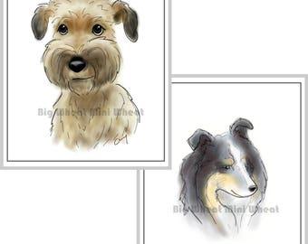 Custom Pet Portraits *Perfect Holiday Present*