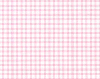 Small Pink Gingham Check
