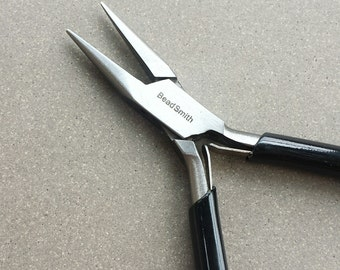 Micro Needle Nose Pliers >> Beadsmith Super Fine Chain Nose Pliers