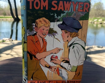 The Adventures of Tom Sawyer Book Vintage Book