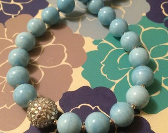 Cloud 9 Beaded Necklace
