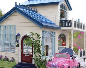 CuteBee Provence DIY Complete Dollhouse Kit 1:24 or G Scale size