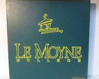 Le Moyne College Sign Plaque Shomar Enterprises
