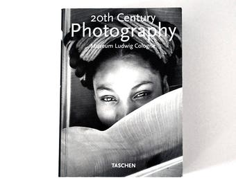 20th Century Photography Book, 1st Edition Art Book 1996, Museum Ludwig Cologne, Modern Portraiture, Fine Art Photography, Black and White
