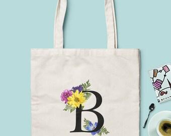 Bridesmaid Gift Bags - Bridesmaid Tote Bags - Monogram Tote Bags - Choose between 2 Models