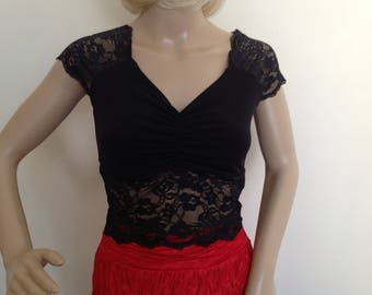 Argentine Tango/dance top in small to large sizes
