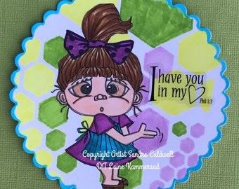 2170 Surprised Sue Digi Stamp