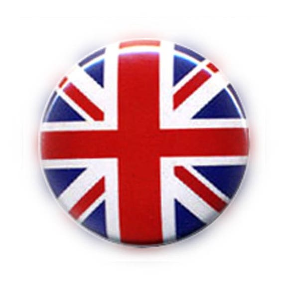 badge drapeau anglais angleterre uk england flag union jack gb