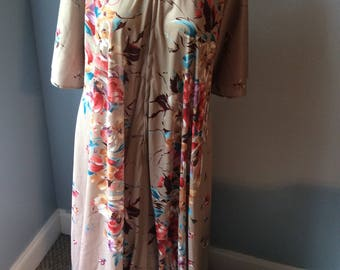 Vintage Womens Dearborn Zip Up Gown