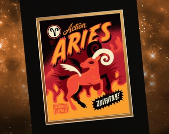 Aries Print