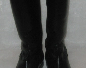 Vintage leather Riding Boots russian size 41 (EU 42, US 8.5)