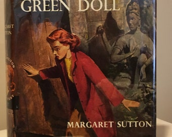 Judy Bolton - The Trail of the Green Doll by Margaret Sutton - Mystery