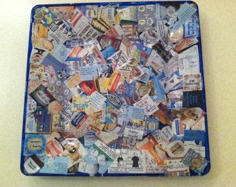 Jewish Passover Matzah Plate