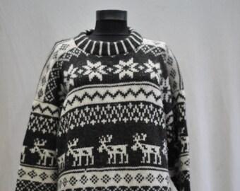 Vintage Pure wool winter women's sweater.............(010)