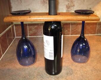 Hardwood Wine Bottle Topper