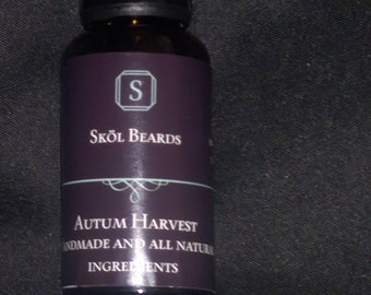 Autumn Harvest Beard oil 30ml