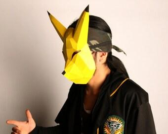 Keaton's Paper Mask