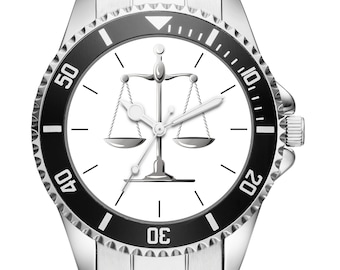 Attorney lawyer lawyer Justice Gift gift idea Watch 20181