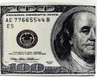 One Hundred Dollar Bill Wallet - 100 dollar Bill Wallet - Money