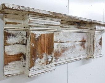 Mantel style shelf