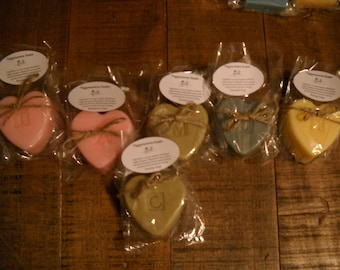 100% Goats Milk Soap With Your Choice Of Lettering Or Designs!!! Also Made With Essential Oils!!!