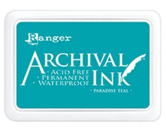 Ranger - Archival Ink Pad - Paradise Teal