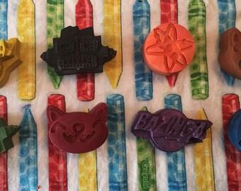Inspired Big Bang Theory crayons