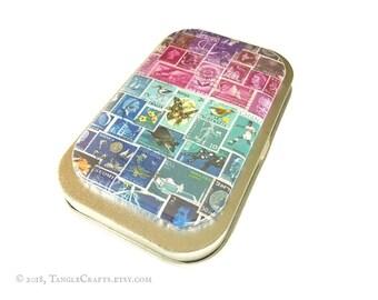 Midnight Sea - Postal Stamp Magnet & Tin Gift Set