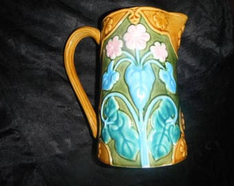 Fitz and Floyd Provence Majolica Pitcher!