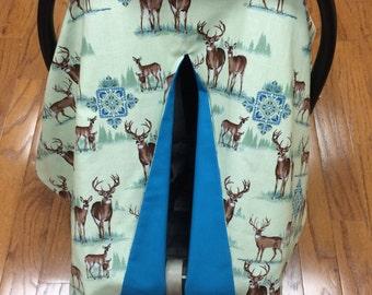 Deer Car Seat Canopy