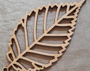 Wooden Leaf - Elm