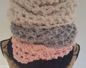 Bulky Chunky Soft and Cozy Cowls Neckwarmers