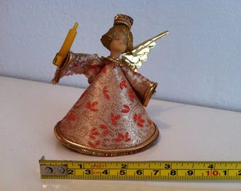 Vintage German Angel Christmas Tree Topper Koestel