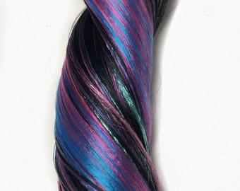 Nylon Doll Hair, ooak Color Blend, Rerooting