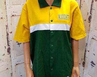 Champion vintage Knights st. Joseph polo shirt blouse